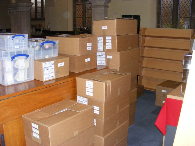 Boxes Arriving