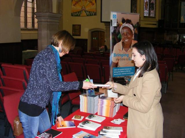 Emily Owen Signing Books